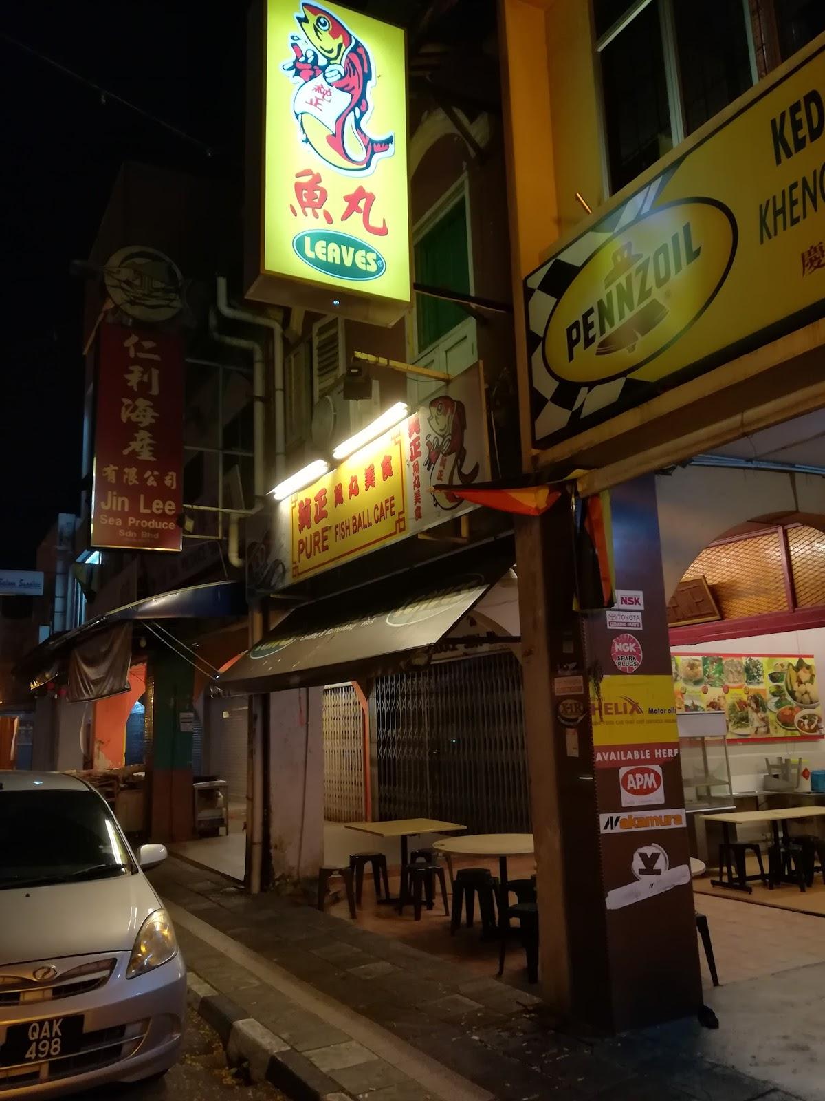 The G Cafe Kuching Menu