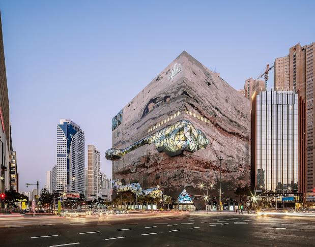 Ấn tượng tòa nhà The Galleria ở Gwanggyo