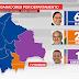 Última encuesta: Arce gana en intención de voto en seis departamentos, Mesa en dos y Camacho en uno