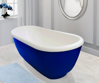 Blue-Colored-Bathtubs-in-tipspedia