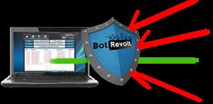 تحميل برنامج BotRevolt لمعرفتة جهازك مخترف او لا وطرد اى هكر يوجد داخل جهازك