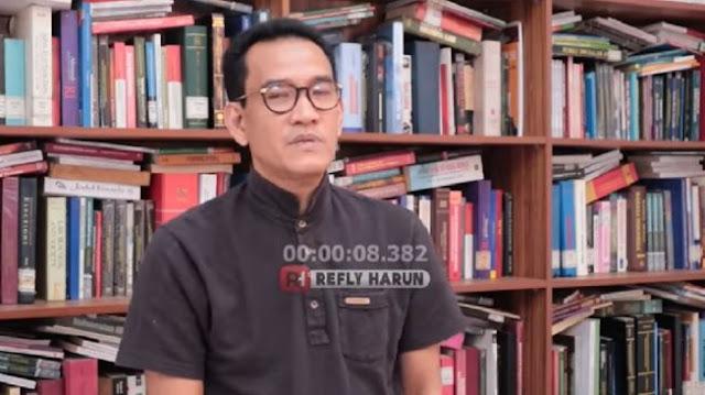 Bos Djarum Protes Anies, Refli Harun Ikut Nyinyir Seret Nama Jokowi