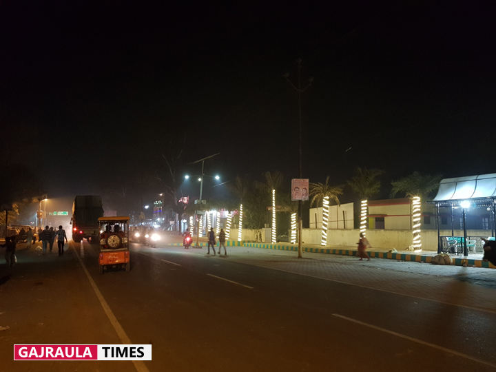 night pics of gajraula