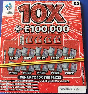 £2 10X Scratchard
