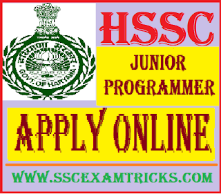 HSSC Junior Programmer Vacancy