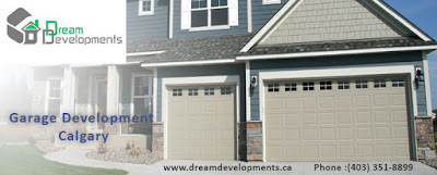 Avail the Services of Dream Developments for Building your Garage Units