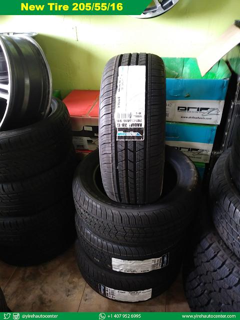 New Tire 205/55/16 - Yireh Auto Center