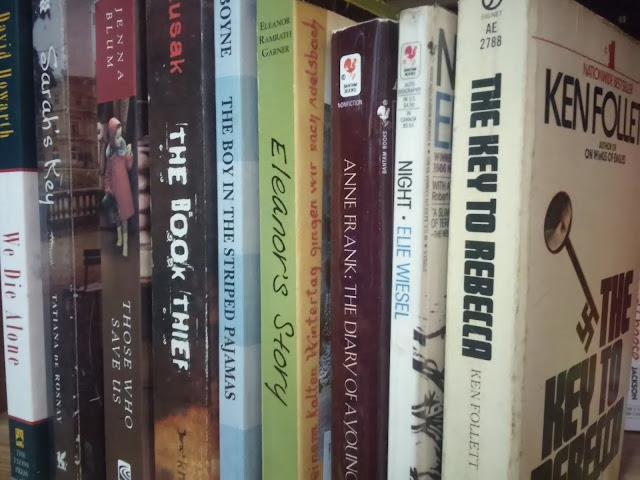 My Books about Holocaust/Nazi