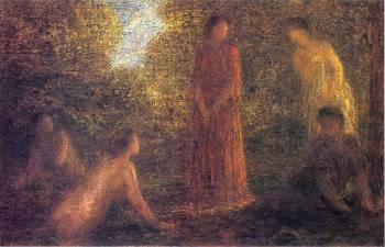 Banhistas - Henri Fantin-Latour - Suas melhores pinturas ~ francês