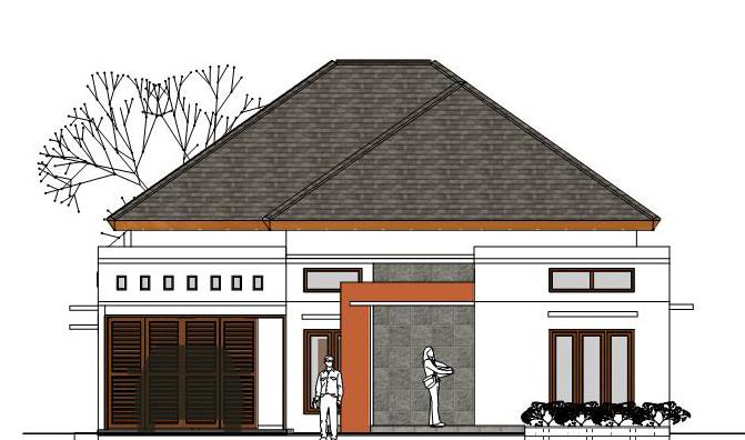 Menggambar Desain Rumah Dengan Sketchup Blog Fathoni Arief