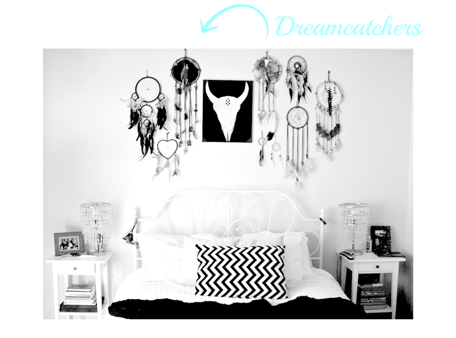 decor with dreamcatcher