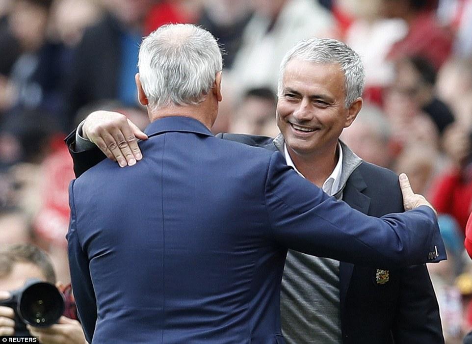 Claudio Ranieri and Jose Mourinho