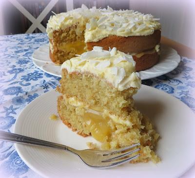 Coconut & Lemon Cake
