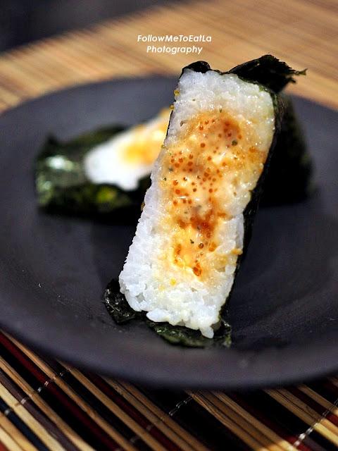 Wasabi Abalone Onigiri  RM 5