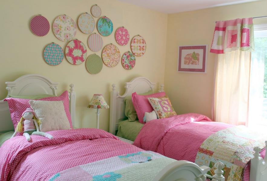 Desain Kamar Tidur Anak Perempuan Sederhana Yang Minimalis
