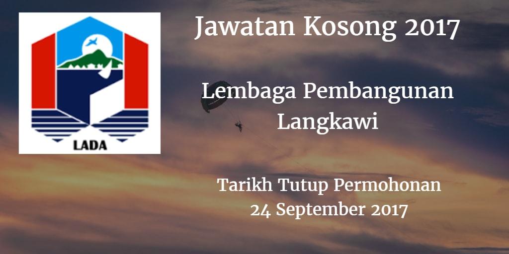Jawatan Kosong LADA 24 September 2017