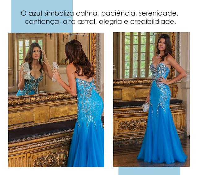 cores de vestidos de festa e seus significados
