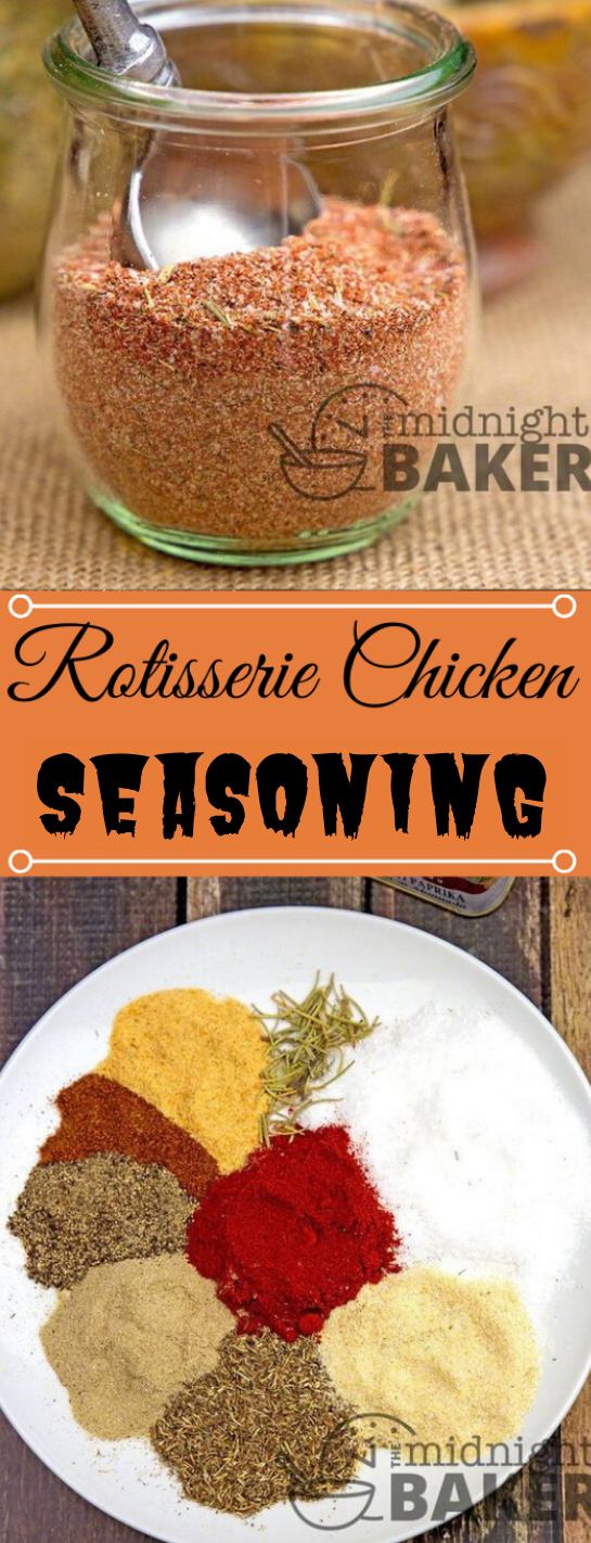 ROTISSERIE CHICKEN SEASONING #chicken #dinner #recipes #easy #food