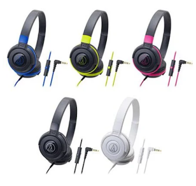 Gambar Headset Audio Technica ATH-S100iS