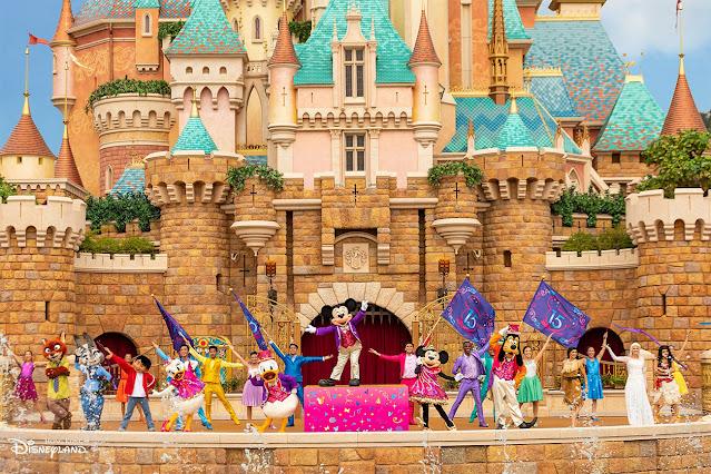 奇妙夢想城堡-大型匯演-迪士尼尋夢奇緣-香港迪士尼樂園-Follow-Your-Dreams-6月門票優惠-Hong-Kong-Disneyland