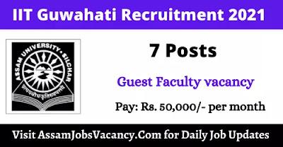 Assam University Silchar Recruitment