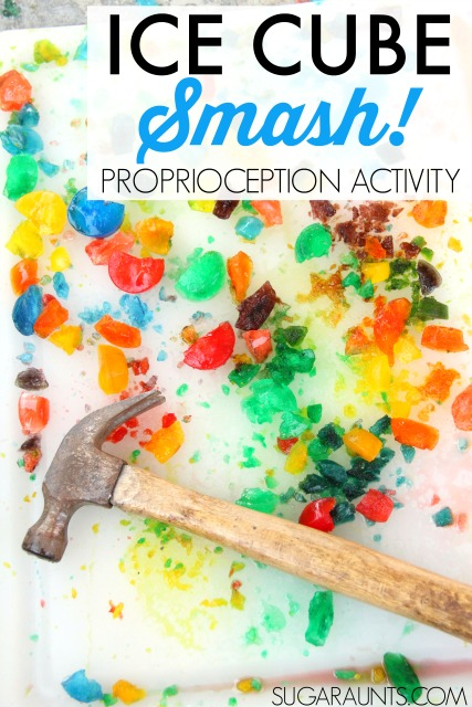 Ice Proprioception Sensory Activity