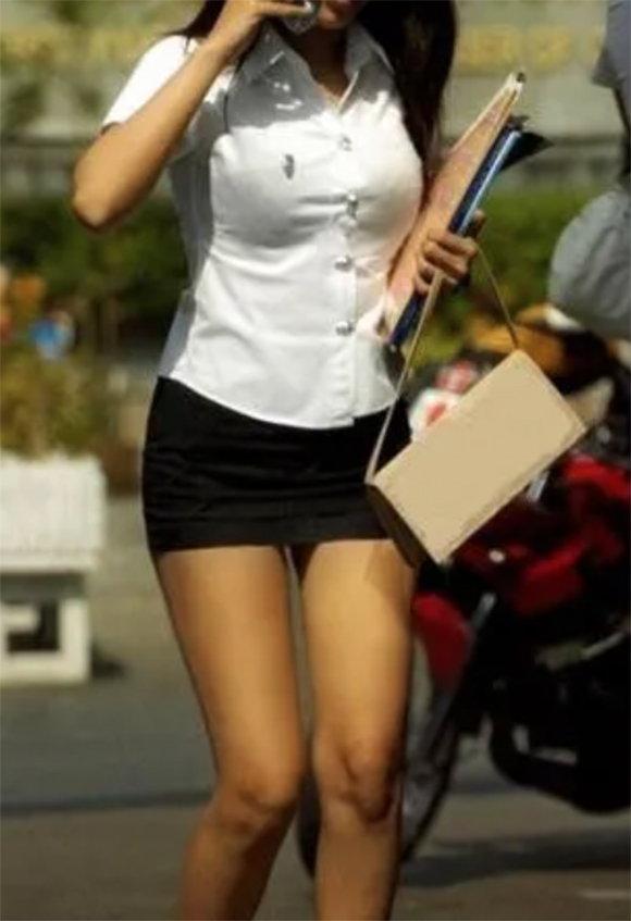 性感騷魅全球的泰國校服