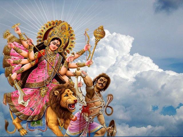 The Hindu Mythology | Durga Puja | Akalbodhan
