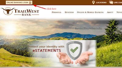 Reset TrailWest Bank Password