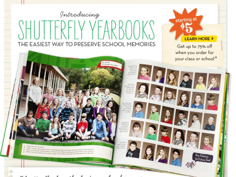 shutterfly yearbooks make your