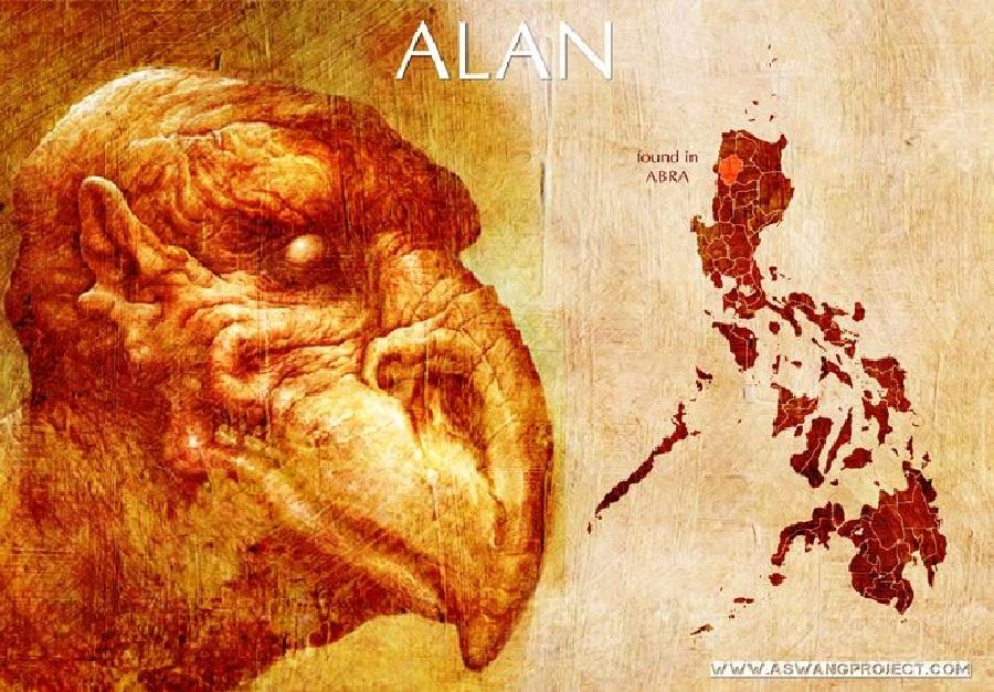 Alan Spirit, Philippine Mythical Creature