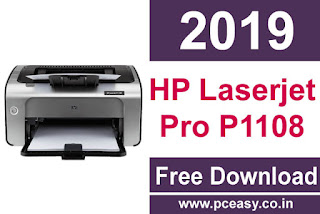 HP Laserjet Pro P1108 Printer Driver