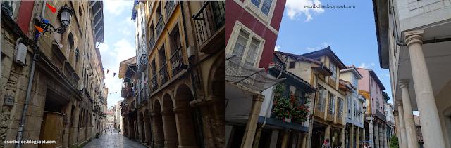 Viaje a Asturias - Escapada a Avilés. Calles medievales y calles de la zona barroca