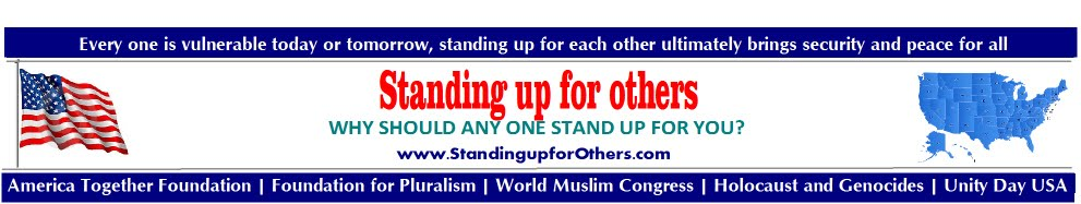 Standing up for others