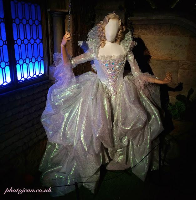 Cinderella-exhibition-london-movie-fairy-godmother-costume-dress