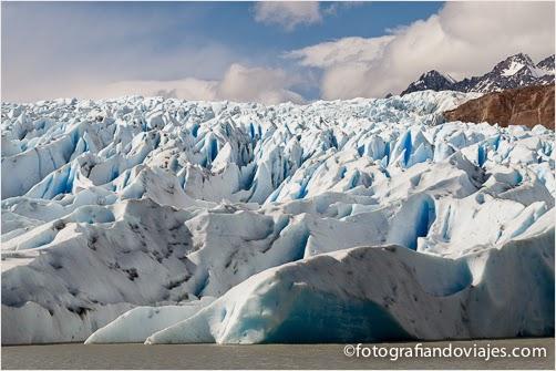 Glaciar Grey en Torres del Paine