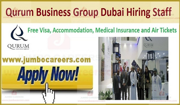 Free visa jobs in Dubai,
