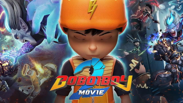 Boboiboy Movie 2 Tercalon Di Dalam Anugerah Best Animation 3D Film