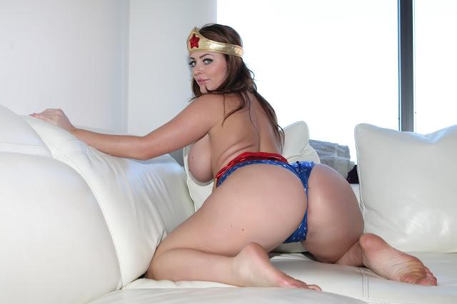Sophie Dee sexy wonder woman sexy big booty