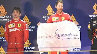 FÓRMULA 1 (Mundial 2019) - Vettel se reencuentra con la victoria en Singapur