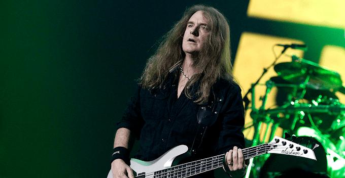 David Ellefson emiite comunicado luego de ser expulsado de Megadeth