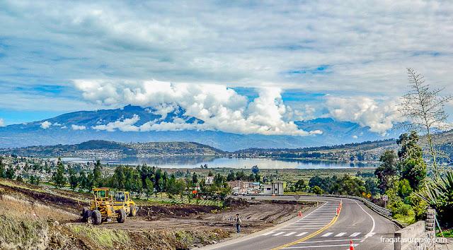 Vulcão Imbabura e Lago San Pablo, Equador