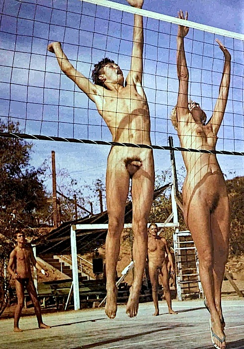 Nude volleyball camp not