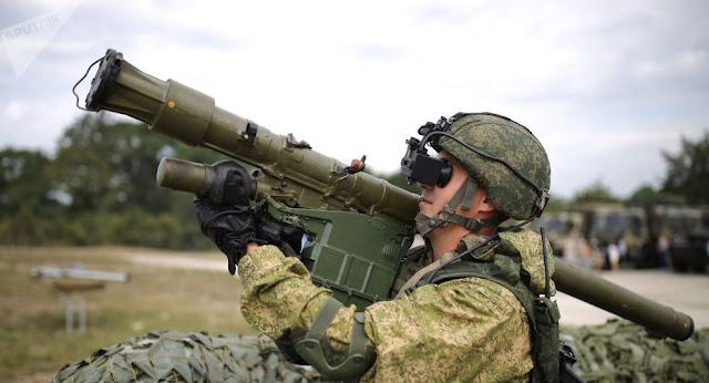 novo sistema antiaéreo portátil