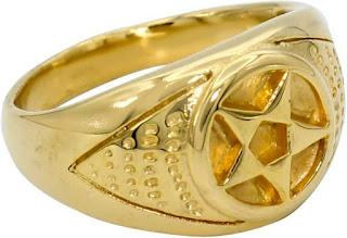 Nhẫn nam vàng 24K 5 lượng