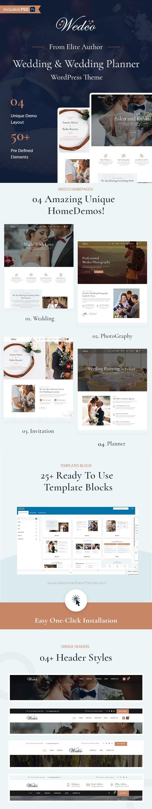 Wedding Multipurpose WordPress Theme