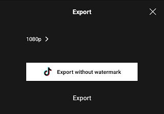 how to remove capcut watermark from template