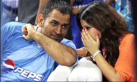 Untold stories about MS Dhoni and Sakshi's love story