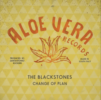 The cover artwork features an illustration of an aloe vera plant, which also is the name of the record label that issued this single.