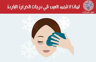 لماذا لا تتجمد العين في درجات الحرارة الباردة